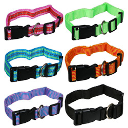 Heavy Duty Large Dog Collar Neck Buckle Large Breed Adjustable Collar Free Ship $6.99