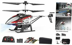 DE52 Remote Control HelicopterAltitude Hold RC Helicopters with Storage Case $54.78