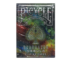 Bicycle Stargazer Nebula Space Deck of Playing Cards