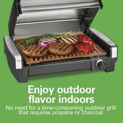Hamilton Beach Electric Indoor Searing Grill with Ceramic Grids Model 25363 $59.99