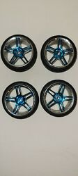 12MM RC WHEELS AND TIRES GLUED $4.00