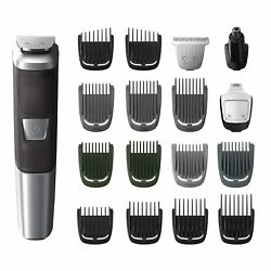 Philips Norelco MG5750 49 Multigroom All In One Trimmer Series 5000 With 18Piece
