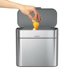 Simplehuman Stainless Steel Compost Caddy $35.99