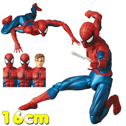 Spider Man Mafex 075 Comic Ver Joints Movable Figure Model Toys Collectible 16cm $28.99