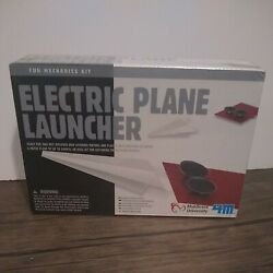 4M Electric Plane Launcher Kit Fun Mechanics Paper Airplanes New Sealed In Box $14.99