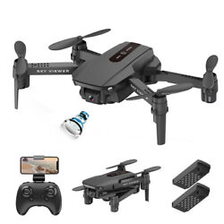 Mini Foldable Drone with Dual Camera for Kids Beginners HD FPV RC Quadcopter NEW $32.99