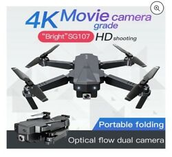 Foldable Mini Drone with Camera 4K HD Optical Flow Positioning RC Quadcopter APP $75.00