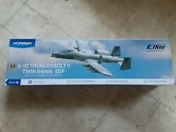 E Flite RC Airplane A 10 Thunderbolt II 64mm EDF Bind N Fly Basic with AS3X and $368.00