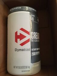 DYMATIZE MICRONIZED CREATINE 200 SERVINGS UNFLAVORED 2.2lbs $35.00