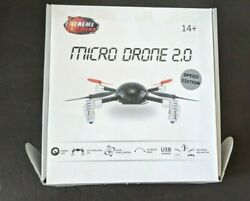 Extreme Fliers Micro Drone 2.0 w camera and extra battery IOB w Instructions $12.00