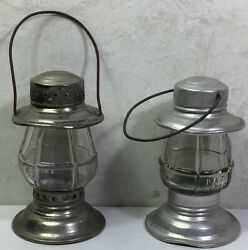 Vintage Glass Candy Lantern Containers 2 $15.99