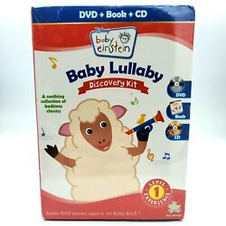 Disney Baby Einstein: Baby Lullaby Discovery Kit Level 1 DVD CD Picture Book New $7.91
