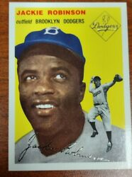 1954 Topps Archives Jackie Robinson Gold Mint $14.99