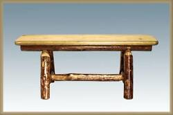 Log Bench for Dining Tables Rustic Benches 45