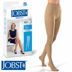 Jobst Womens Compression 8-15 mmhg Pantyhose Hosiery Supports UltraSheer Hose