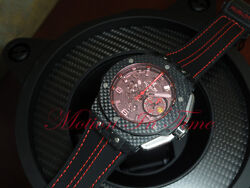 Hublot Big Bang Ferrari Carbon Red Magic Limited 1000 Pcs 45mm 401.QX.0123.VR