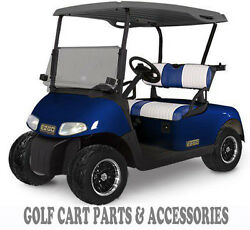 EZGO RXV Tinted Windshield 2008-UP Folding Style  *New In Box Golf Cart Part*  $129.00