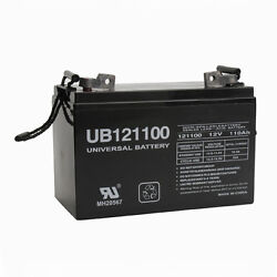 UPG 12V 110AH FL1 SLA Battery for Forklift Pallet Jack Mobile Home RV