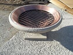 Frontgate Outdoor Copper Cooking Patio Pool Yard Garden Party Firepit Stand