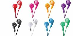 JVC HAF160 Gumy Earbuds Earphones with Bass Boost for tablets mp3 Laptop $10.88