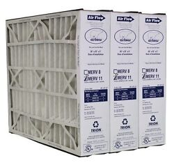Trion Air Bear 259112 102 3 Pack Pleated Furnace Air Filter 20quot;x25quot;x5quot; MERV 11 $79.45