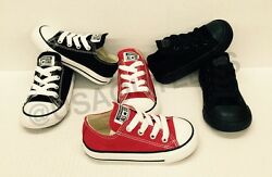 CONVERSE INFANT CHUCK TAYLOR ALL STAR TODDLERS SIZE 2 10 $27.99