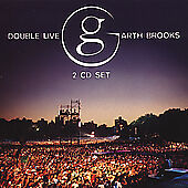 Garth Brooks : Double Live Country 2 Discs CD $5.69