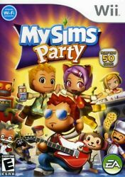 My Sims: Party for Nintendo Wii WII Action Adventure Video Game $6.04