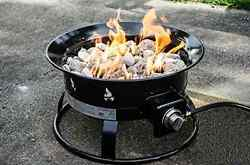 Outland Camping Furniture Firebowl Deluxe 890 Portable Propane Fire New Set