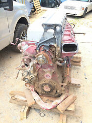 2012 MACK GU713 ENGINE ASSY MP8 serial 977714 TRANSMISSION AVAILABLE ASWELL