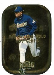 1X BOB ABREU 1997 Metal Universe #1 MINING FOR GOLD INSERT DIE CUT $0.99