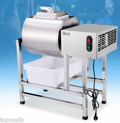 Stainless Steel Meat Salting Machine Meat Poultry Tumbler Machine 25L $1050.00