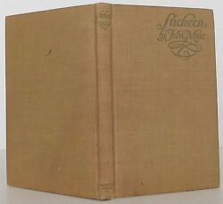 JOHN MUIR Stickeen INSCRIBED FIRST EDITION