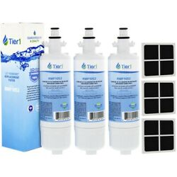 Fits LG LT700P amp; LT120F Refrigerator Water amp; Air Filter Combo3 Pack