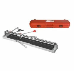 Speed-92 36 in. Professional Adjustable Manual Tile Cutter with Carrying Case
