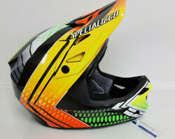 New Specialized Bike Dissident Dh Helmet Troy Brosnan Signature Size Medium $249.99