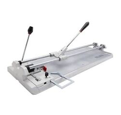 New PRO 22 in. CeramicPorcelain Heavy Duty Manual Tile Cutter with Storage Case