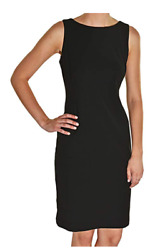 NEW Studio By London Times Ladies' Sheath Dress - BLACK