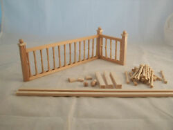 Railing Kit #4 Stairs dollhouse miniature balcony guard 12