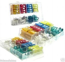 120pc Assorted Car Fuse Trucks SUV's Auto Replacement fuses regular size blade $6.25