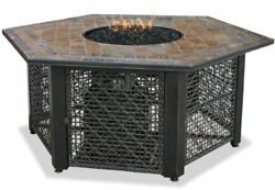 Blue Rhino GAD1374SP LP GAS OUTDOOR FIREBOWL WITH SLATE TILE MANTEL