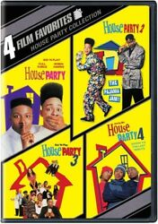 4 Film Favorites: House Party Collection [New DVD] Full Frame Widescr $12.26
