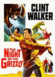 The Night of the Grizzly New DVD Colorized Rmst Widescreen $16.35