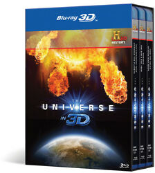 The Universe in 3D New Blu ray 3D With Blu Ray 3D Subtitled $25.84