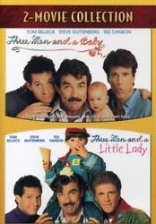 Three Men and a Baby Three Men and a Little Lady New DVD $9.36