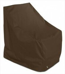 KoverRoos 92750 Weathermax Adirondack Chair Cover Chocolate - 37 W x 40 D x 41 H