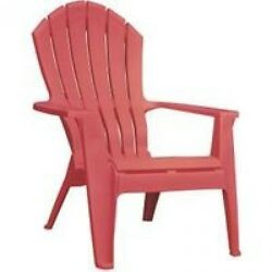 Adams Mfg Corp. Chair Adirondack Cherry Red 8371-26-3700. Free Delivery