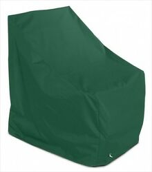 KoverRoos 62750 Weathermax Adirondack Chair Cover Forest Green - 37 W x 40 D x 4