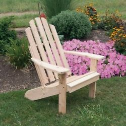 A & L Furniture Western Red Cedar Kennebunkport Adirondack Chair. Best Price