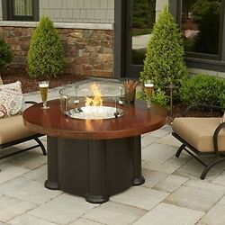 The Outdoor GreatRoom Company AC-48-K 48 Inch Colonial Chat Fire Pit Table with